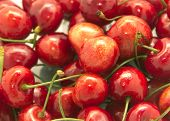 A Lot Of Red Cherry