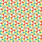 Abstract geometric seamless background.