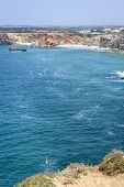 Small Bay On South Of Portugal In Sagres