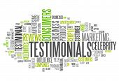 Word Cloud Testimonials