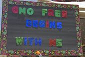 Gmo Free Begins With Me Sign
