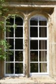 Window Of Residential House In Jesus College Cambridge University