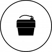 drinking water fountain symbol
