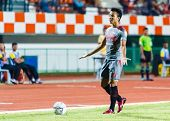 Sisaket Thailand-june 29: Noppol Pitafai Of Bangkok Utd. In Action During Thai Premier League Betwee
