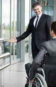 Boss Before Meeting With Disabled Man