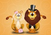 Lion And Lioness Spouses
