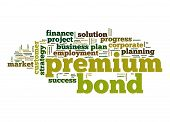 Premium Bond Word Cloud