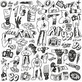 rap doodles