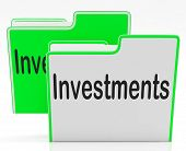 Files Investments Means Administration Organization And Business