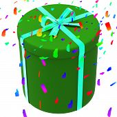 Celebrate Giftbox Means Present Celebration And Presents
