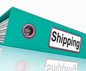 Shipping File Means Files Document And Organize