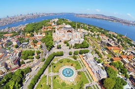 picture of paysage  - Ayasofya at Old City of Istanbul - JPG