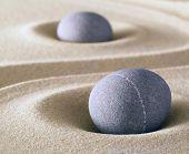 zen meditation stone balance and harmony sheng fui and tao buddhism