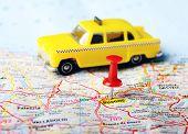 Burgos ,spain Map Taxi