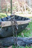 Locked Boat