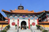Chinese monastery in Hong Kong