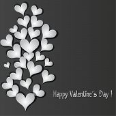 Love Pattern Heart Banner Background.