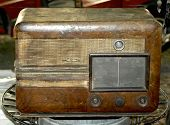 Old Wooden Radio