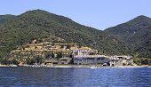 Xenophontos monastery. Holy Mount Athos.