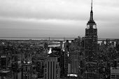 New York city in B/W
