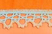 Crochet Lace Close Up