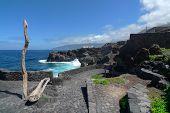 El Hierro - Rocky coast in Pozo de la Salud