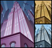 Cityscape Vertical 2