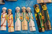 Wooden Dolls , Indian Handicrafts Fair At Kolkata