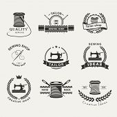 pic of tailoring  - Set of tailor labels - JPG