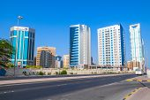 Modern Architecture, Office Buildings Of Manama, Bahrain
