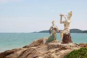 Thai Island Of Koh Samed.