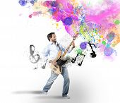 Boy With Bass Guitar
