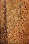 Wood Made Goddess Durga, Indian Handicrafts Fair