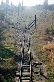 Railroad Tracks In Kerch