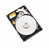 Harddisk On White Background