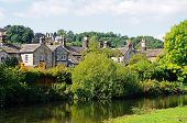 Riverside cottages, Bakewell.