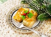 Christmas Food Stuffed Cabbage