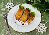 Christmas Food - Roasted Fish