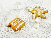 Christmas Gingerbreads And Decor