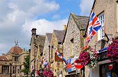 British flags on buildings, Bakewell.