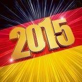 2015 -  German Flag