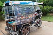 Motorcycle For Tourist Travelling