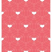 Pattern with Openwork Hearts