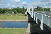 Bridge On Warta River In Poznan, Poland