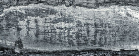 foto of ore lead  - close up of the raw plumbum  - JPG