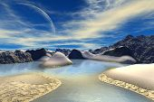 stock photo of alien  - Alien Planet  - JPG