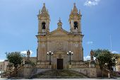 foto of gozo  - Sannat parrocchia dedicata a S - JPG
