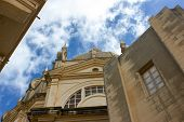 stock photo of gozo  - Sannat parrocchia dedicata a S - JPG