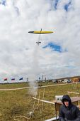 foto of glider  - Running a radio - JPG