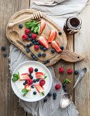 pic of porridge  - Healthy breakfast set - JPG